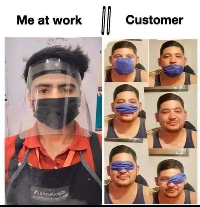 У мережі висміяли покупців, які 'креативно' носять маски: фото - фото 422175
