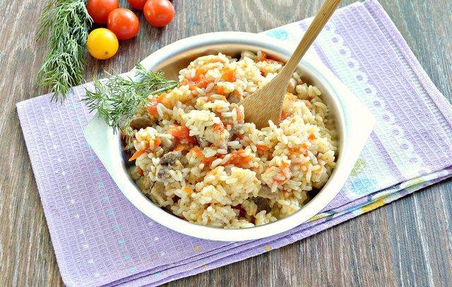 Рис з овочами  - фото 422622