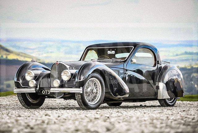 З молотка пустять 83-річний Bugatti з 220-сильним двигуном: його ціна космічна - фото 422629