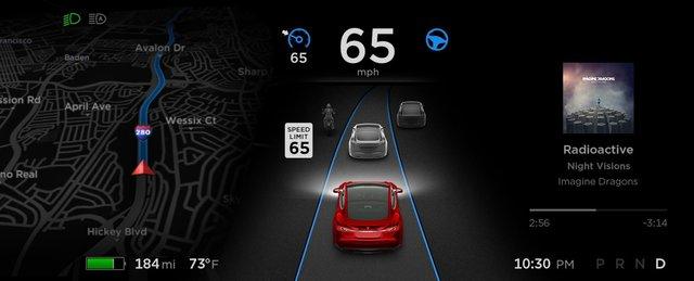 Автопілот Tesla почав розпізнавати знаки обмеження швидкості - фото 422812