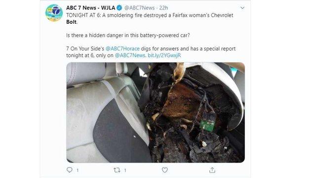 Chevrolet Bolt згорів через пів року після покупки - фото 422922