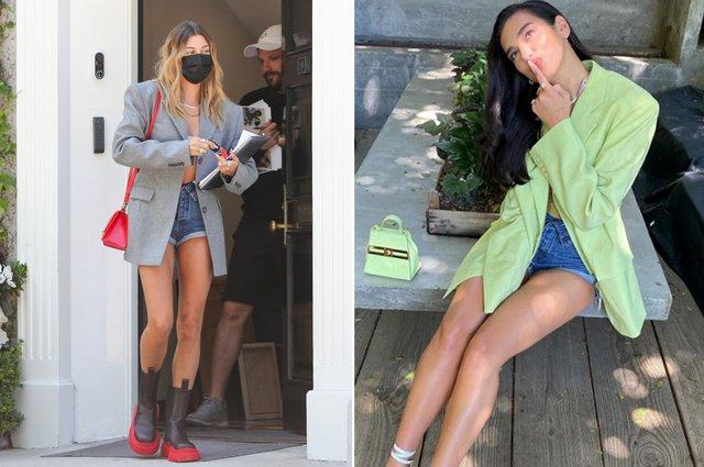 Розстебнуті шорти: новий модний тренд захопив Instagram - фото 423194