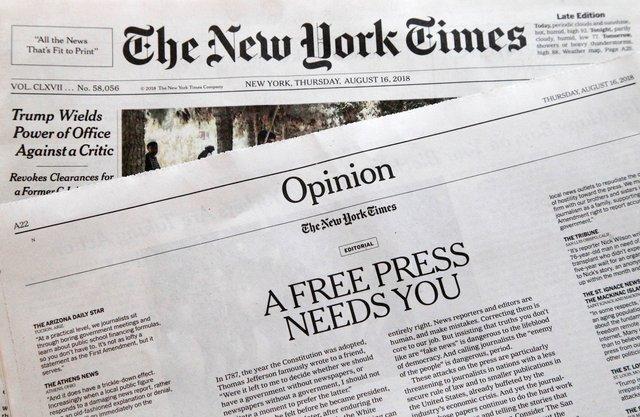 Уперше за 80 років газета The New York Times вийшла без телепрограми: чому так сталось? - фото 423206