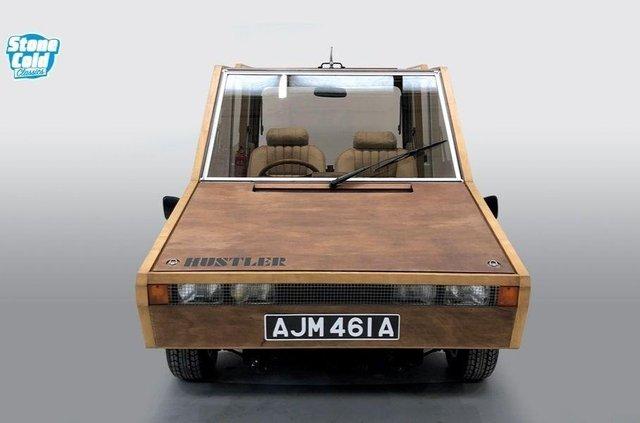 На торги виставлять рідкісний дерев'яний автомобіль від дизайнера Aston Martin - фото 423382