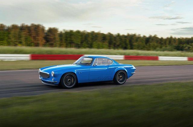 56-річний Volvo перетворили на крутий спорткар - фото 423500