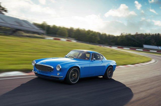 56-річний Volvo перетворили на крутий спорткар - фото 423501