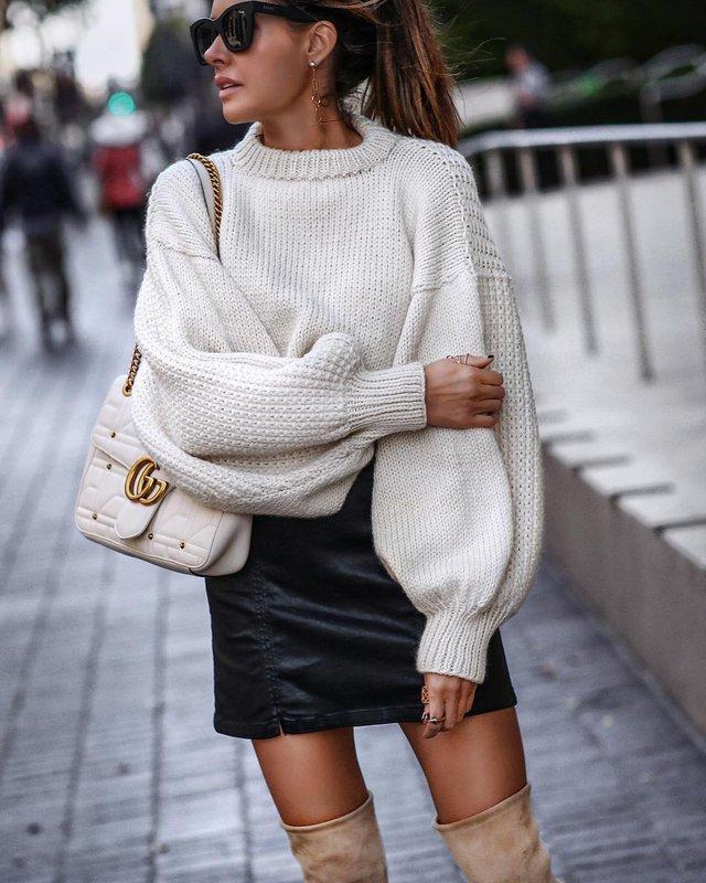 Як носити светр і джинси цієї осені: найкращі образи - фото 423566