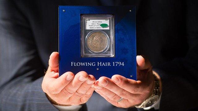 Найдорожча монета у світі виставлена на торги - фото 423923