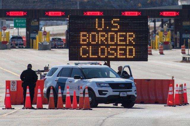 Канадсько-американський кордон  - фото 424207