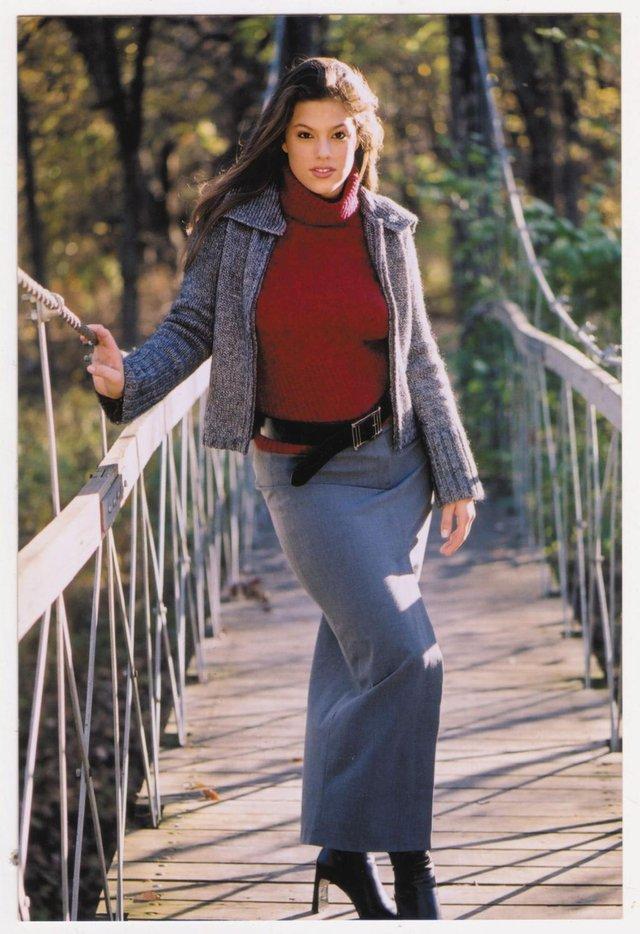 Моделі світу: як змінилася найсексуальніша манекенниця plus-size Ешлі Грем - фото 424226