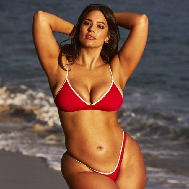 Моделі світу: як змінилася найсексуальніша манекенниця plus-size Ешлі Грем - фото 424231