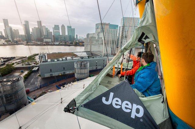 Jeep відкрив найекстремальніший мотель у світі: аж дух перехоплює - фото 424496
