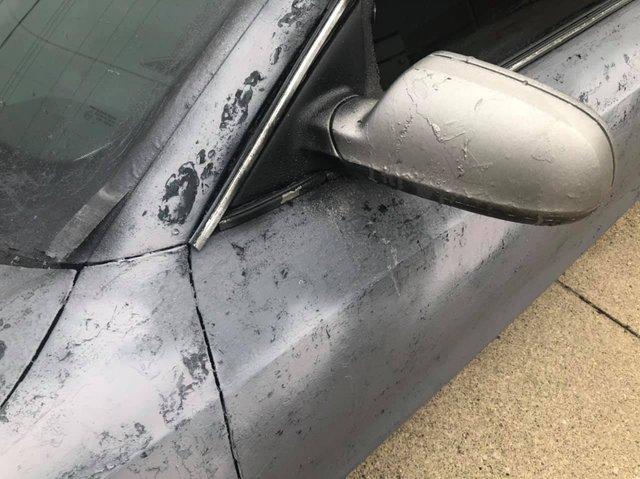 Власник Audi зіпсував свою машину у спробі поміняти колір кузова: епічні фото - фото 424612