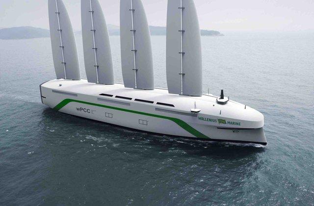 У Швеції розробили екологічний вантажний корабель, який буде перетинати океан під вітрилом - фото 424772