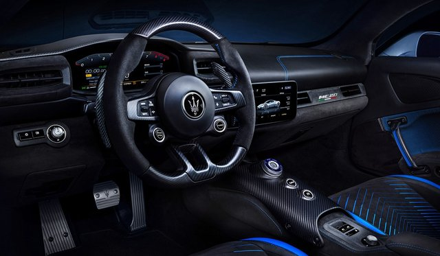 Maserati презентувала люксовий суперкар MC20: ефектні фото - фото 424839