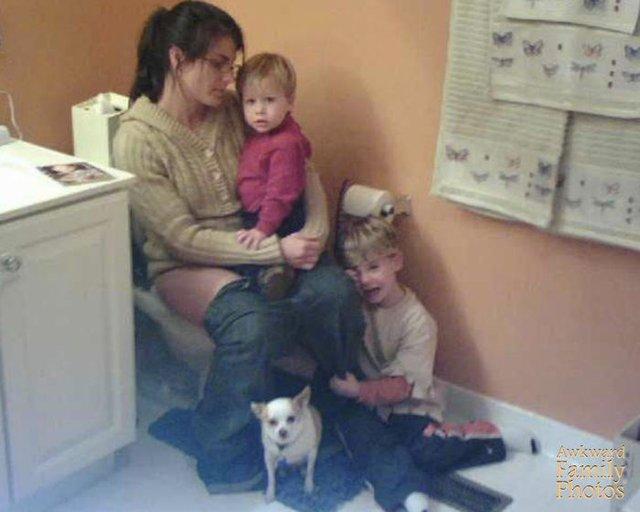Ніяково буде всім: сімейні фото, від яких соромно і смішно - фото 424876