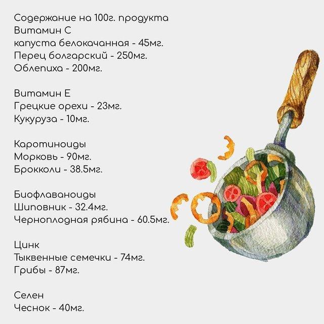 Названі осінні продукти, які зміцнюють імунітет - фото 425065