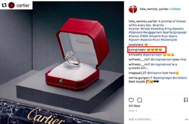 Кріштіану Роналду подарував коханій обручку вартістю понад пів мільйона євро - фото 425193