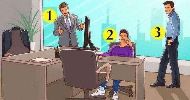 Простий тест на логіку: знайдіть власника кабінету - фото 425376