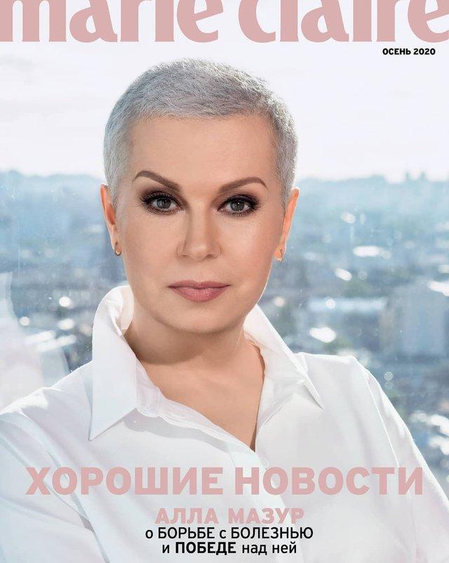 Алла Мазур показала, як змінилася після боротьби з раком: ефектна фотосесія без перуки - фото 425713