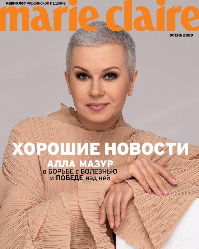Алла Мазур показала, як змінилася після боротьби з раком: ефектна фотосесія без перуки - фото 425715