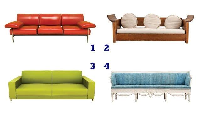 Тест на особистість для жінок: виберіть диван на картинці - фото 425720