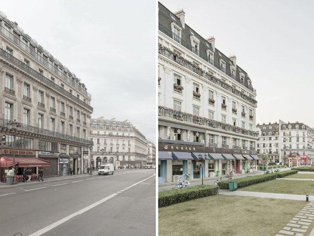 У Китаї є місто-імітація Парижу, яке майже не відрізнити від справжнього: фотопорівняння - фото 425724