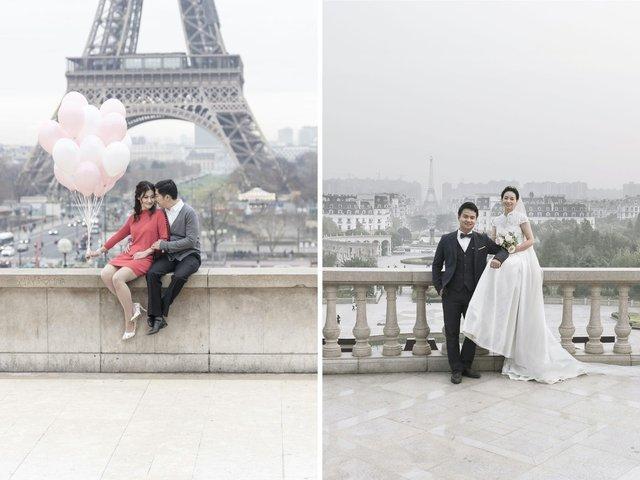 У Китаї є місто-імітація Парижу, яке майже не відрізнити від справжнього: фотопорівняння - фото 425729