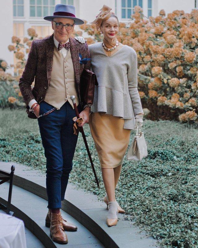 Активна пара пенсіонерів захоплює мережу своїми стилем життя та модними образами - фото 426553