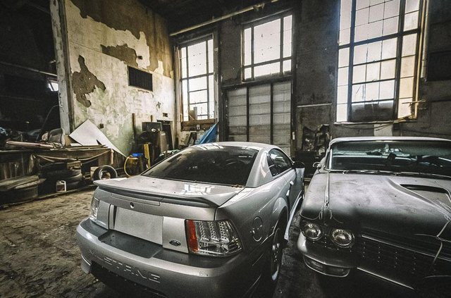 У покинутій школі виявили колекцію рідкісних авто: фото - фото 427099