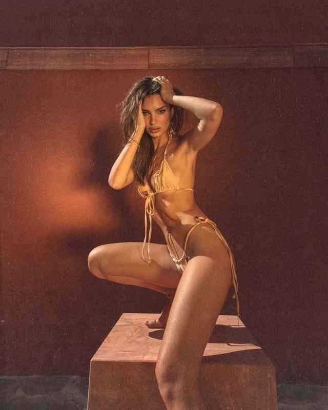 Сексуальність у повітрі: Емілі Ратажковскі захопила новими фото в бікіні (18+) - фото 427143