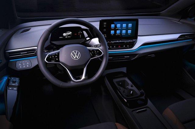 Представлений Volkswagen ID.4: він здатний проїхати 520 кілометрів на одному заряді - фото 427273