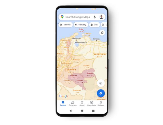 Google Maps будуть показувати кількість заражень COVID-19 у конкретному районі - фото 427298
