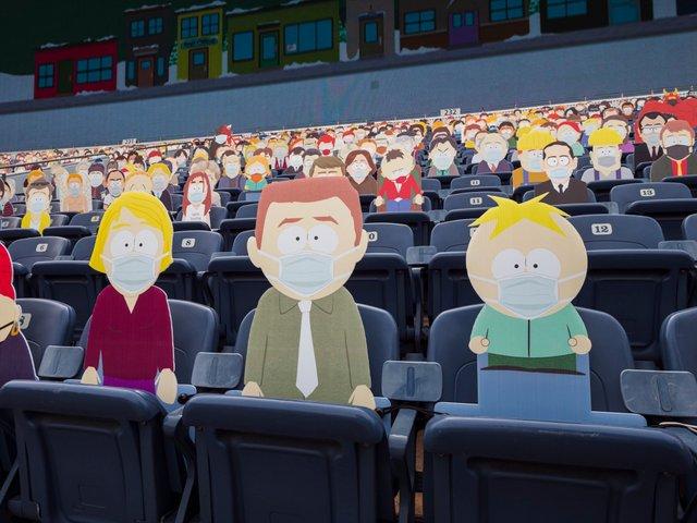 Команда з американського футболу заповнила трибуни персонажами Південного Парку: фото - фото 427701
