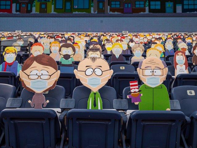 Команда з американського футболу заповнила трибуни персонажами Південного Парку: фото - фото 427702