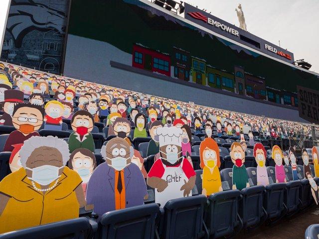 Команда з американського футболу заповнила трибуни персонажами Південного Парку: фото - фото 427703