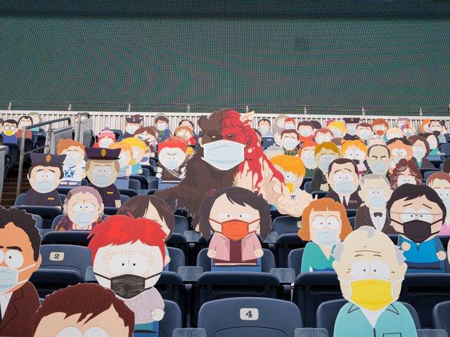 Команда з американського футболу заповнила трибуни персонажами Південного Парку: фото - фото 427705