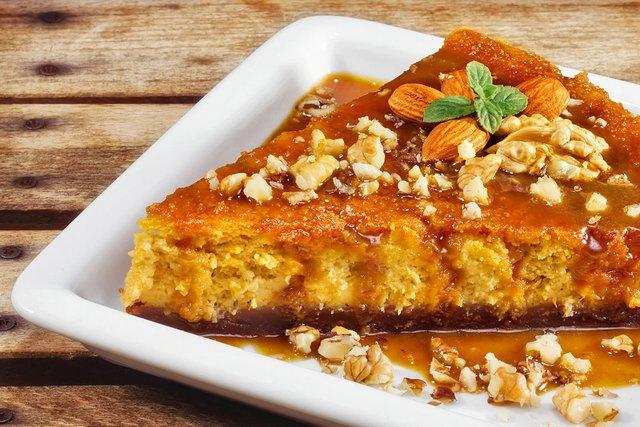 Рецепт гарбузового пирога з медом  - фото 428001