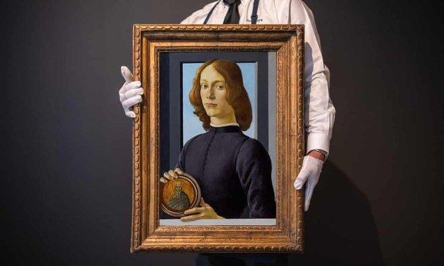 Роботу автора Народження Венери виставили на продаж за рекордну суму - фото 428200