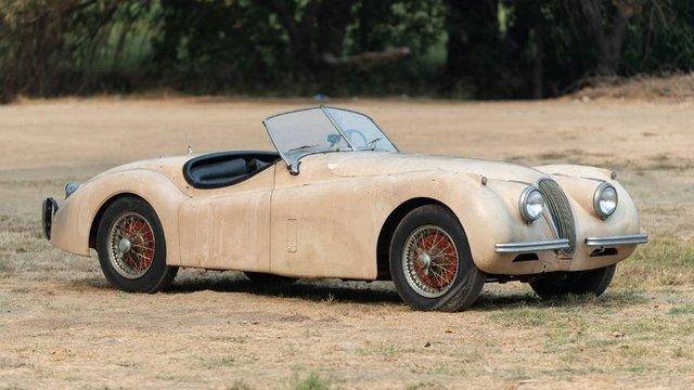 В амбарі виявили 66-річний родстер Jaguar з багатою історією: фото - фото 429117