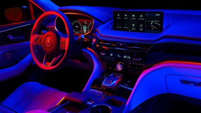 Acura показала інтер'єр свого нового флагманського кросовера - фото 429730