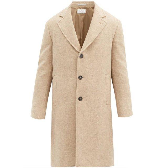 Найкращі бежеві пальта для чоловіків: 10 модних моделей цього сезону - фото 429789