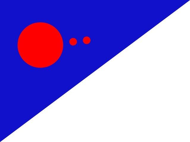 Ілон Маск придумав, як буде виглядати прапор першої колонії на Марсі - фото 429983