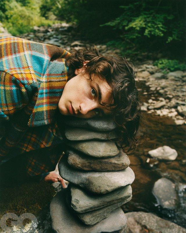 Тімоті Шаламе знявся у стильній фотосесії для чоловічого журналу GQ - фото 430469