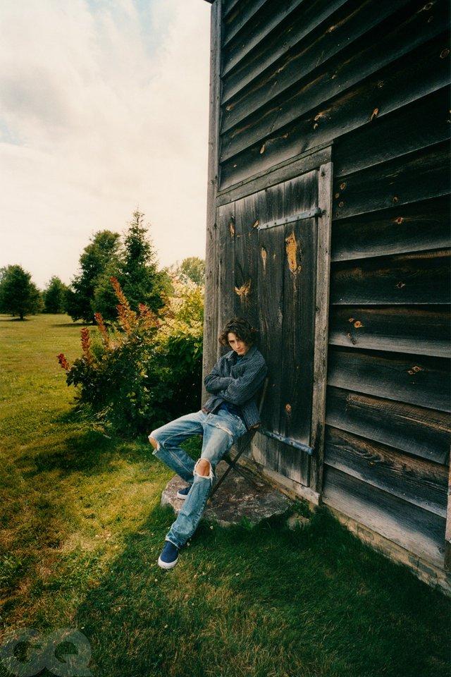 Тімоті Шаламе знявся у стильній фотосесії для чоловічого журналу GQ - фото 430470