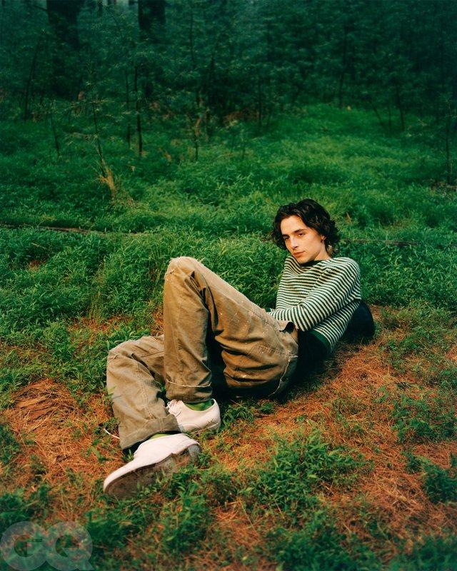 Тімоті Шаламе знявся у стильній фотосесії для чоловічого журналу GQ - фото 430477