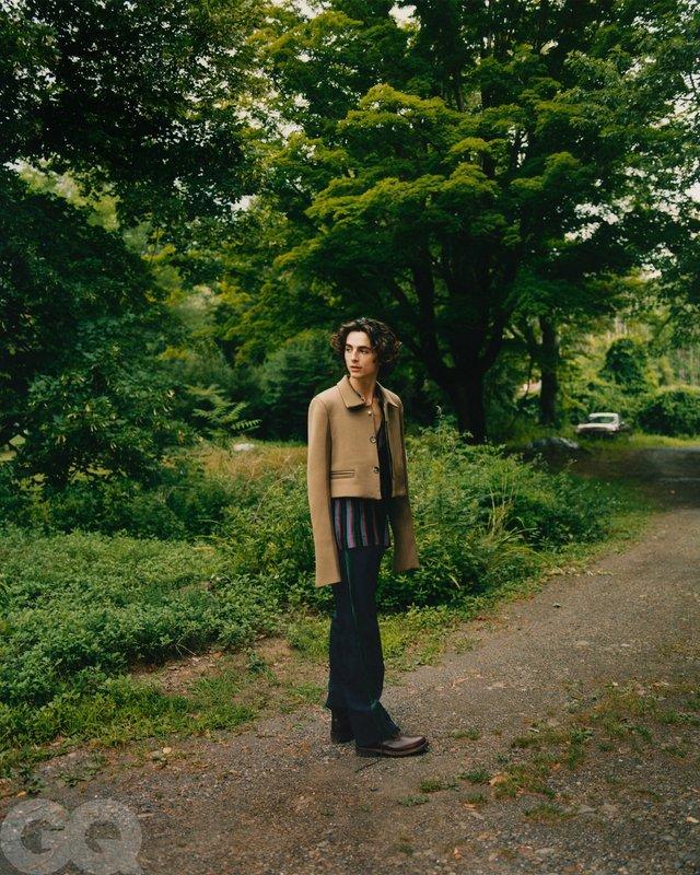 Тімоті Шаламе знявся у стильній фотосесії для чоловічого журналу GQ - фото 430480