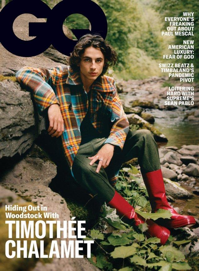 Тімоті Шаламе знявся у стильній фотосесії для чоловічого журналу GQ - фото 430481