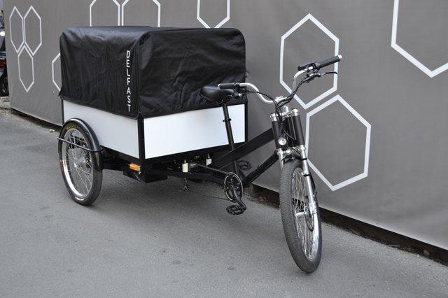 Стартували продажі українського вантажного електробайка Delfast Trike - фото 430527