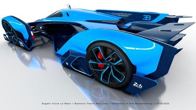 Bugatti заінтригували дизайном нового гіперкара - фото 431745